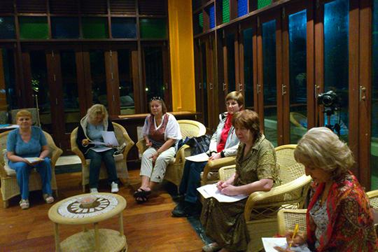 Вечерняя презентация мастер-классов